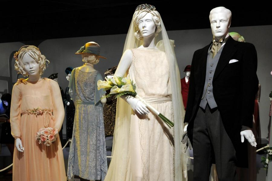 """Costume designs from """"Downton Abbey"""""""