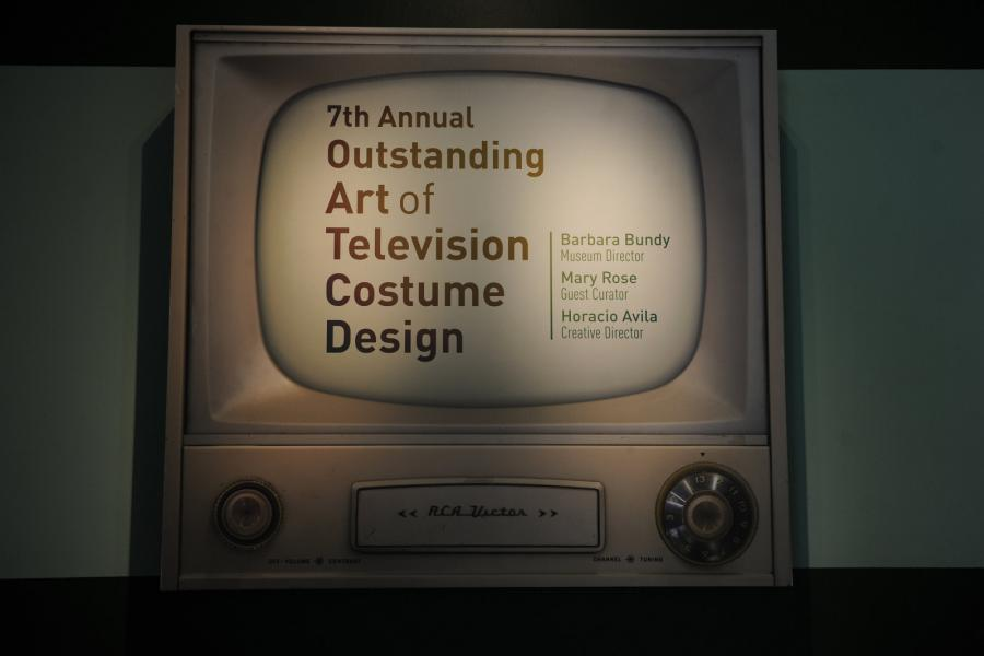 "FIDM Museum & Galleries ""The Outstanding Art of Television Costume Design"" Exhibition Preview"
