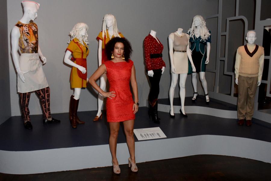 "Costume designer for ""2 Broke Girls"" Trayce Gigi Field"