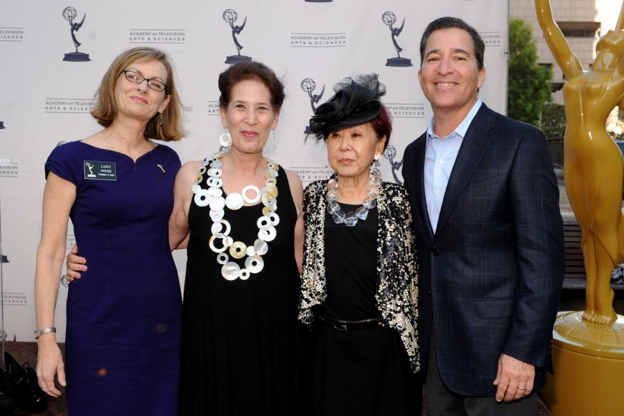 Lucy Hood, Betsey Potter, Mary Rose and Bruce Rosenblum