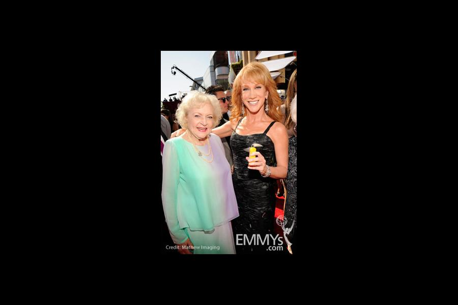 Betty White & Kathy Griffin