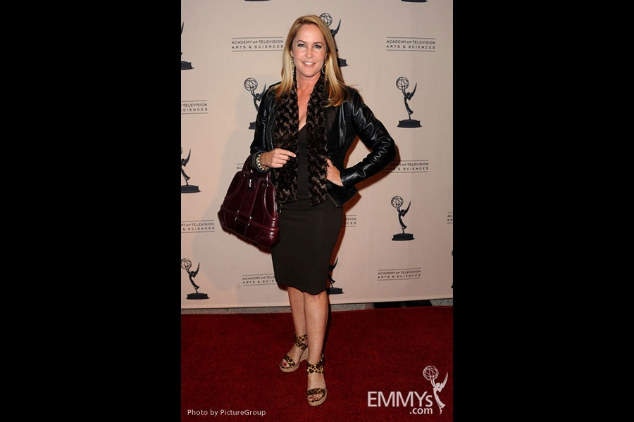 Erin Murphy arrives at an Evening with Breaking Bad