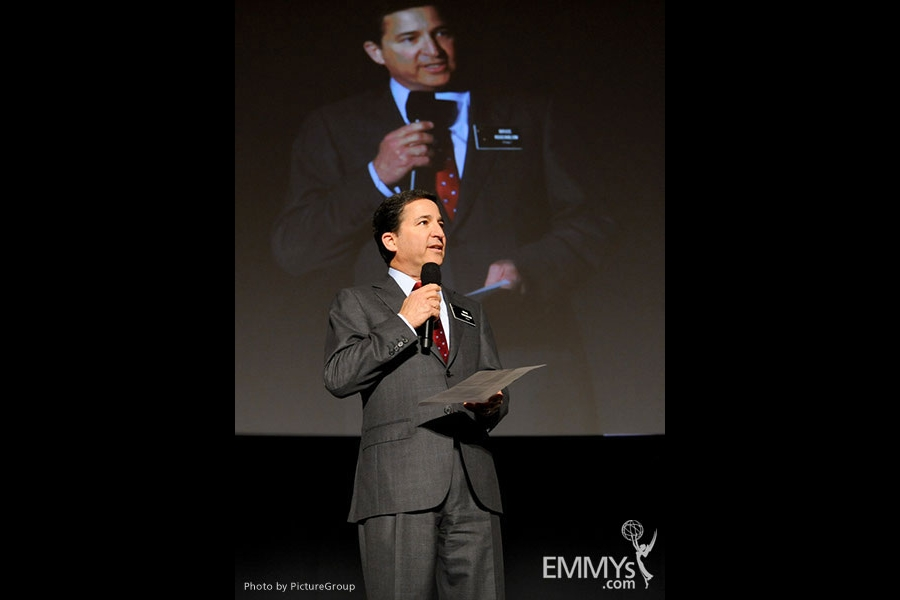 Bruce Rosenblum onstage at an Evening with Breaking Bad