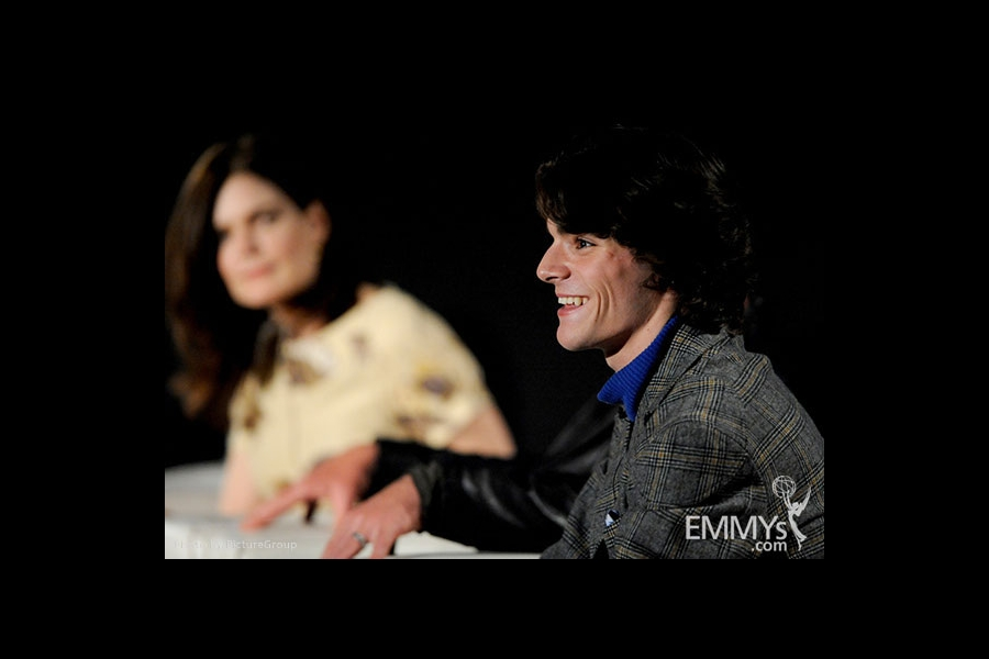 R.J. Mitte participates in an Evening with Breaking Bad