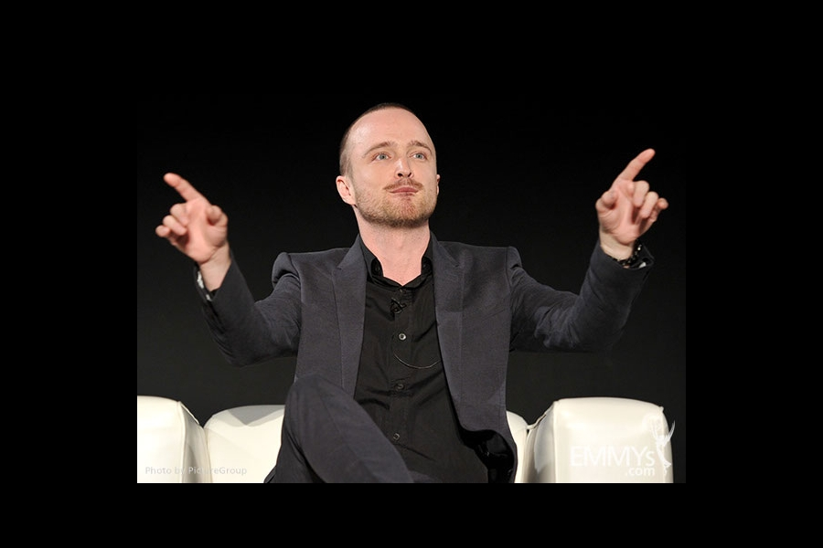 Aaron Paul participates in an Evening with Breaking Bad