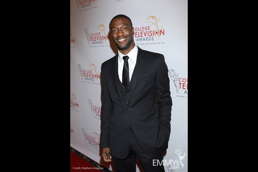 Aldis Hodge at the 32nd College Television Awards