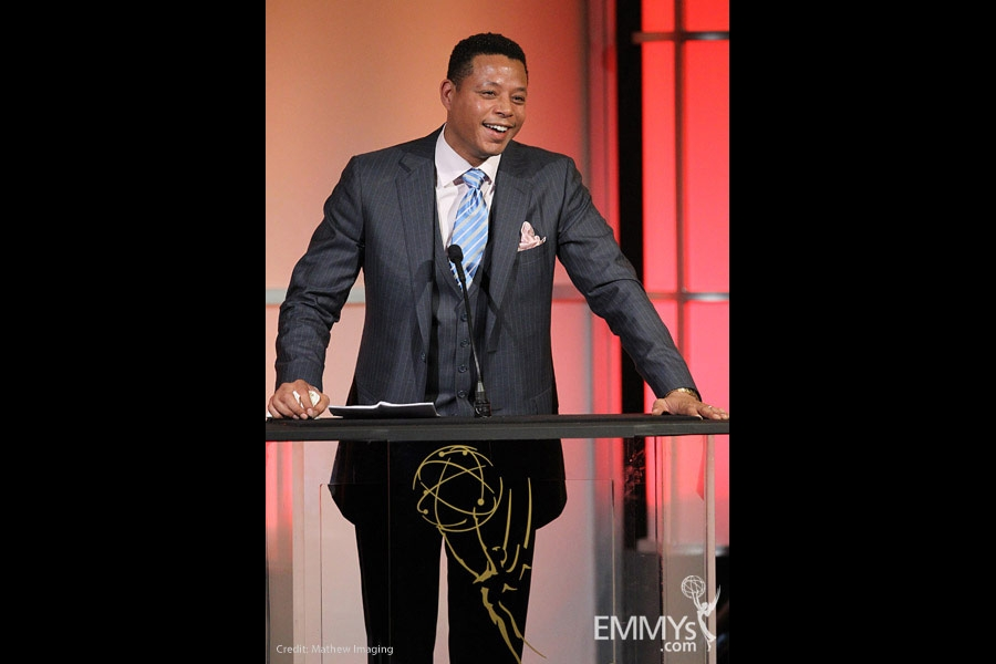 Terrence Howard at the 32nd College Television Awards