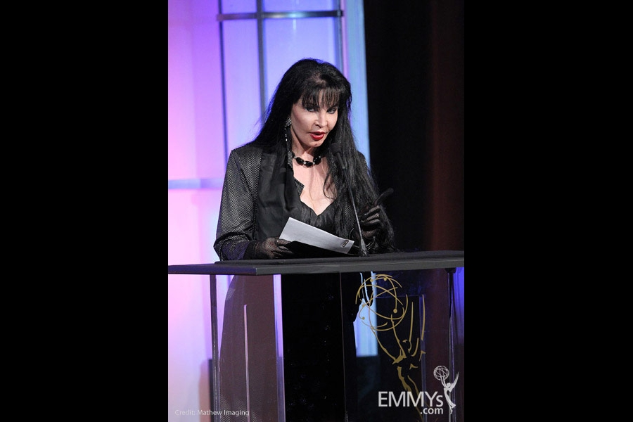 Loreen Arbus at the 32nd College Television Awards