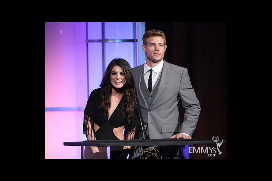 Shenae Grimes & Trevor Donovan at the 32nd College Television Awards