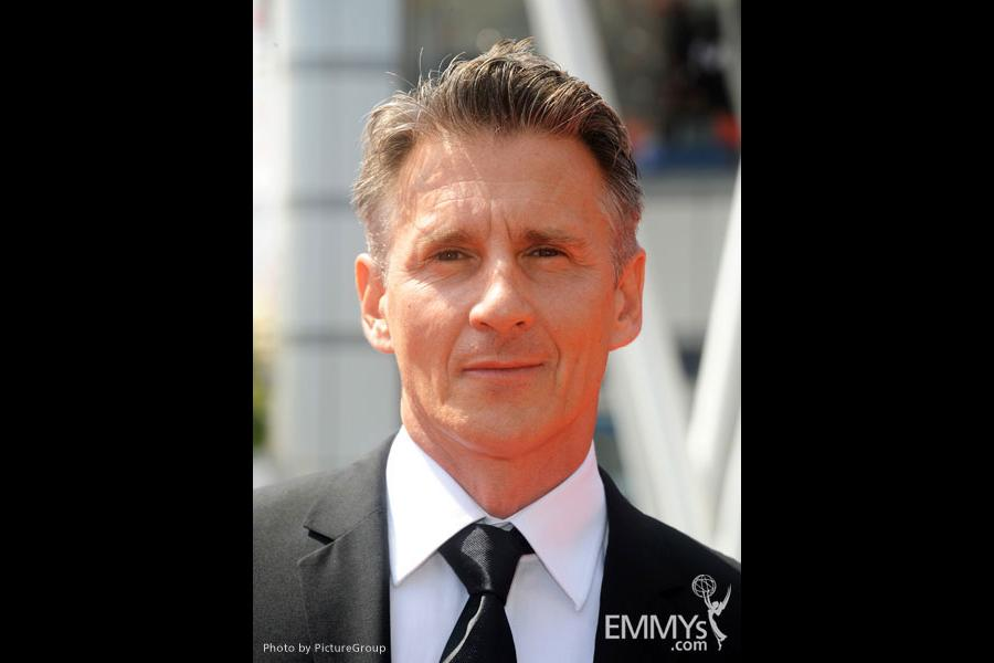 Christopher Stanley attends the 2011 Primetime Creative Arts Emmys