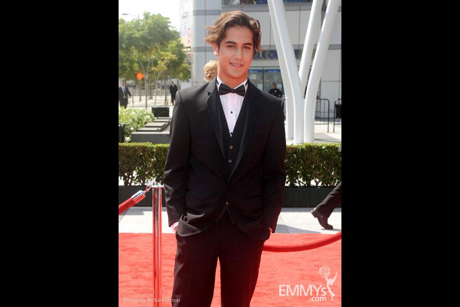 Avan Jogia attends the Academy of Television Arts and Sciences 2011 Primetime Creative Arts Emmys