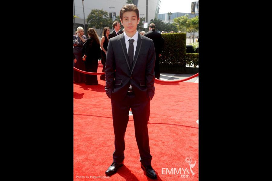 Jake T. Austin attends the Academy of Television Arts and Sciences 2011 Primetime Creative Arts Emmys