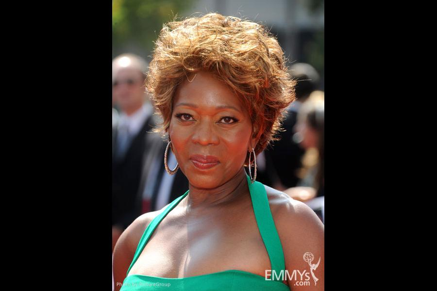 Alfre Woodard attends the Academy of Television Arts and Sciences 2011 Primetime Creative Arts Emmys