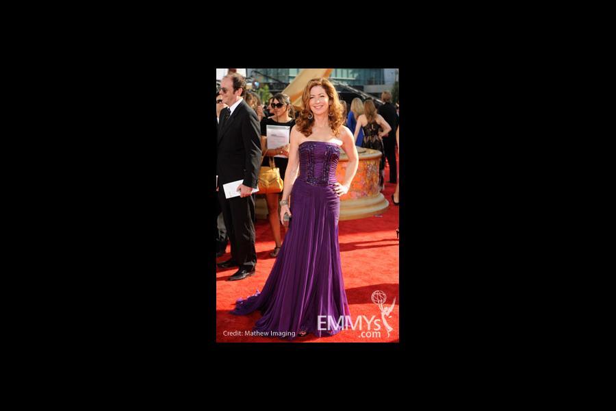 Dana Delany arrives at the 61st Primetime Emmy® Awards