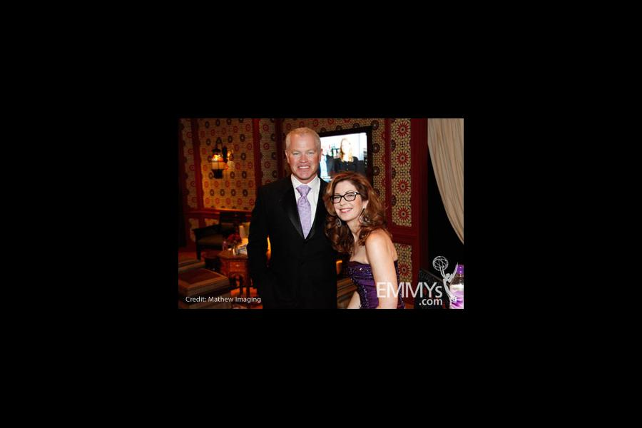 Neal McDonough & Dana Delany at the 61st Primetime Emmy® Awards