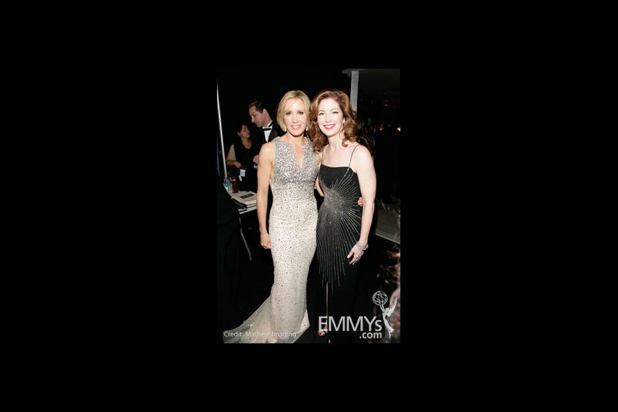 Felicity Huffman & Dana Delany at the 60th Primetime Emmy® Awards