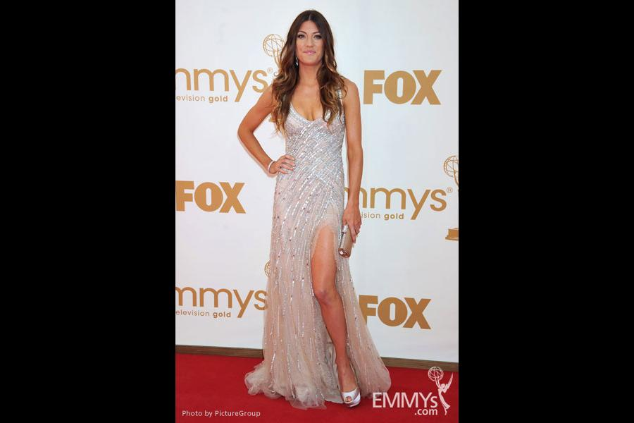Jennifer Carpenter arrives at the Academy of Television Arts & Sciences 63rd Primetime Emmy Awards