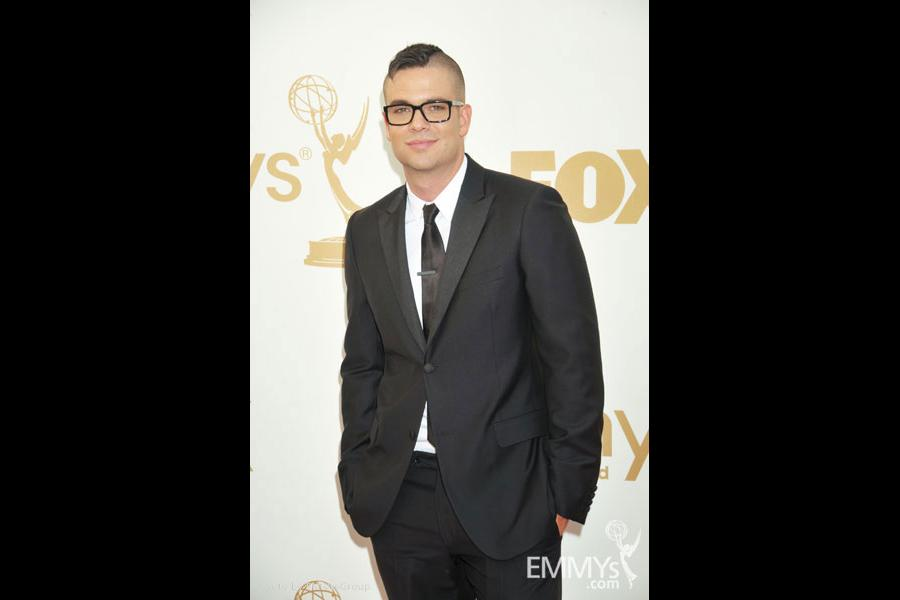 Mark Salling arrives at the Academy of Television Arts & Sciences 63rd Primetime Emmy Awards