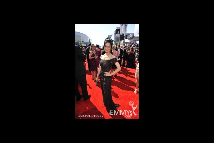 Archie Panjabi at the 62nd Primetime Emmy Awards