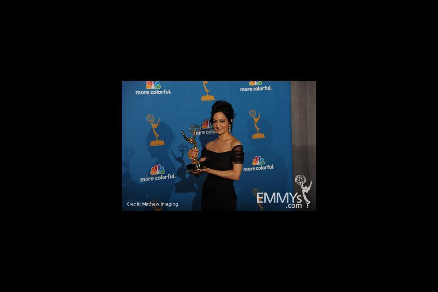 Archie Panjabi at the 62nd Primetime Emmy Awards