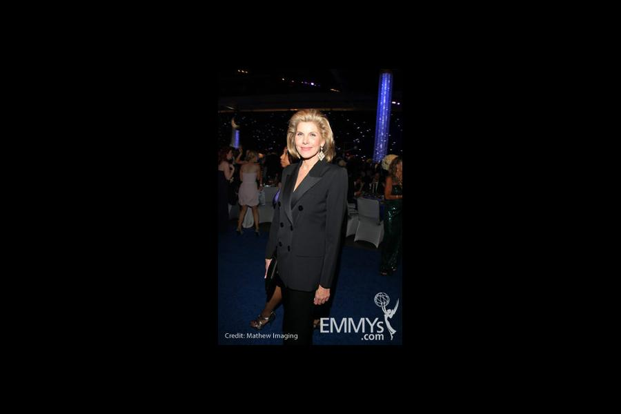 Christine Baranski at the 62nd Primetime Emmys Governors Ball
