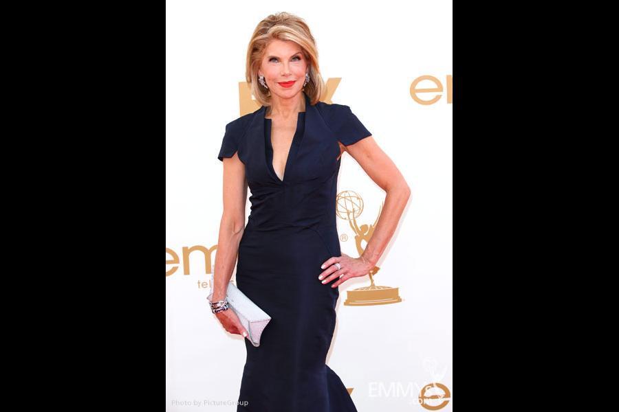 Christine Baranski arrives at the Academy of Television Arts & Sciences 63rd Primetime Emmy Awards at Nokia Theatre L.A. Live