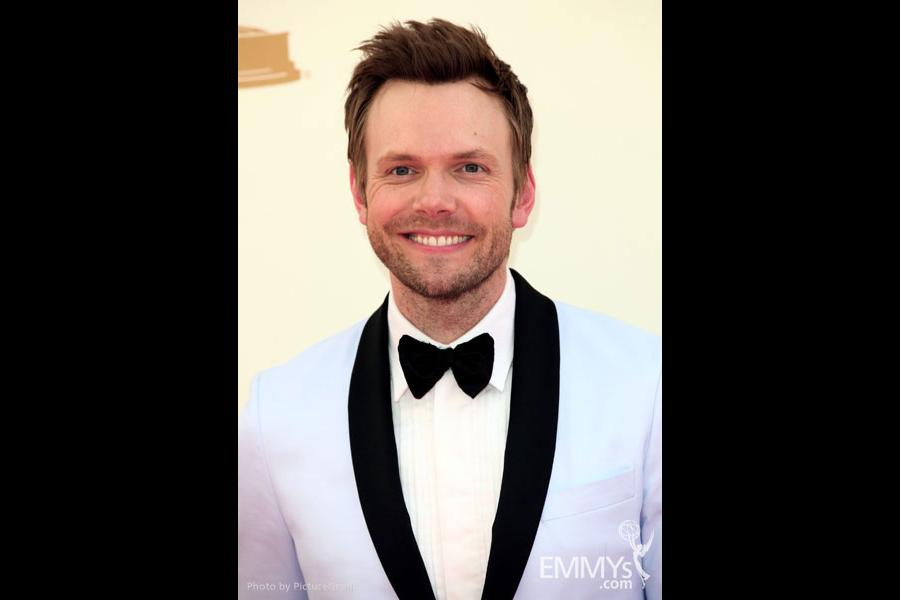 Joel McHale arrives at the Academy of Television Arts & Sciences 63rd Primetime Emmy Awards at Nokia Theatre L.A. Live
