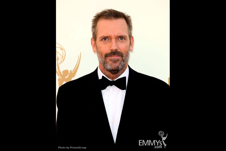 Hugh Laurie arrives at the Academy of Television Arts & Sciences 63rd Primetime Emmy Awards