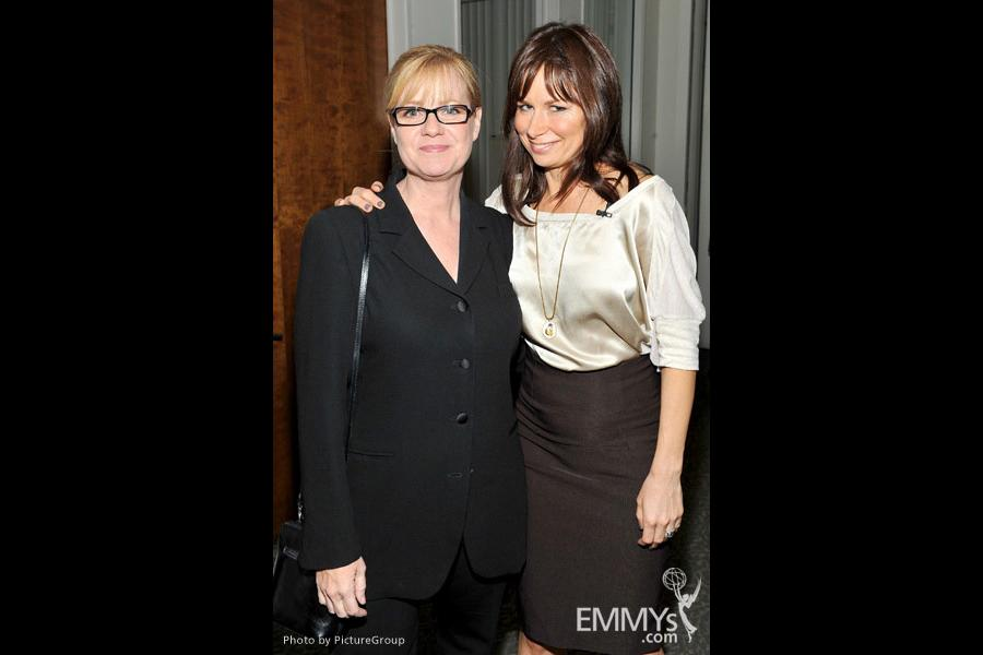 Bonnie Hunt & Mary Lynn Rajskub at Ladies Who Make Us Laugh