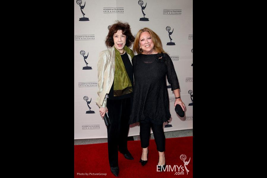 Lily Tomlin & Elayne Boosler at Ladies Who Make Us Laugh