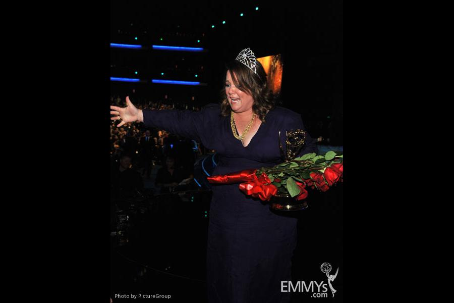 Melissa McCarthy during the Academy of Television Arts & Sciences 63rd Primetime Emmy Awards at Nokia Theatre L.A. Live