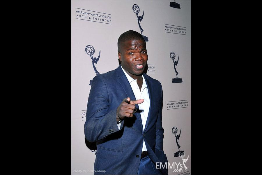 Reno Wilson arrives at an Evening with Mike & Molly