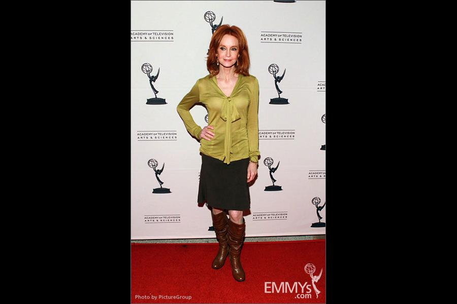 Swoosie Kurtz arrives at an Evening with Mike & Molly