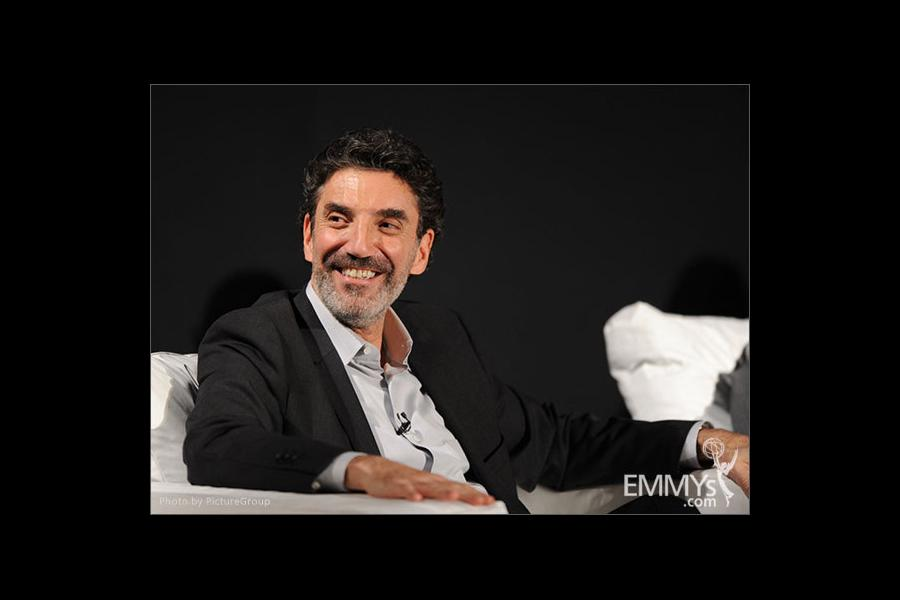 Chuck Lorre participates in an Evening with Mike & Molly