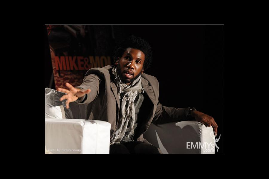 Nyambi Nyambi participates in an Evening with Mike & Molly