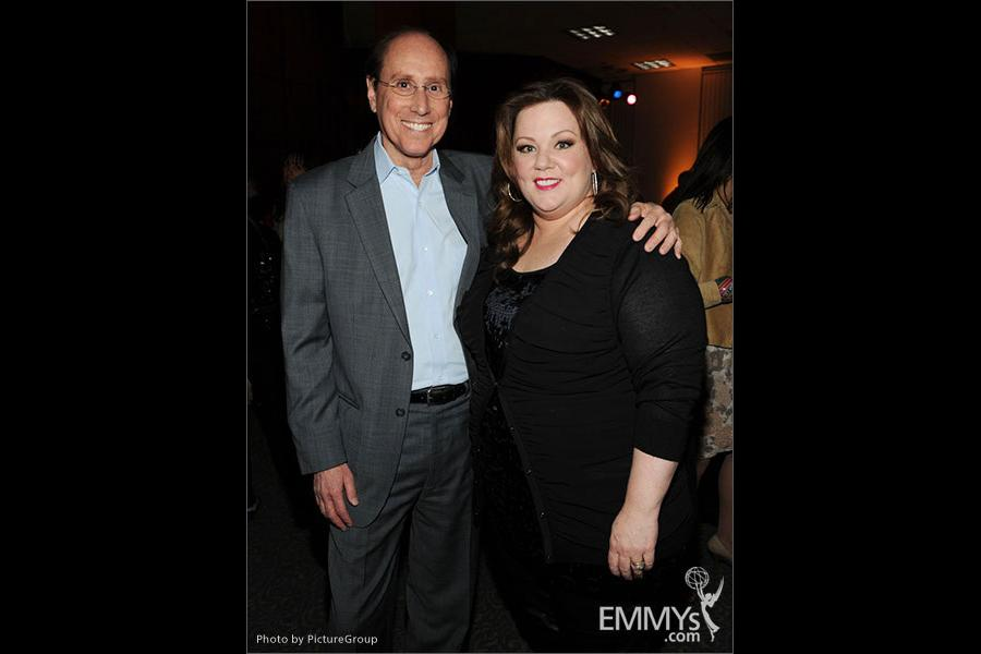 Melissa McCarthy and Alan Perris attend an Evening with Mike & Molly