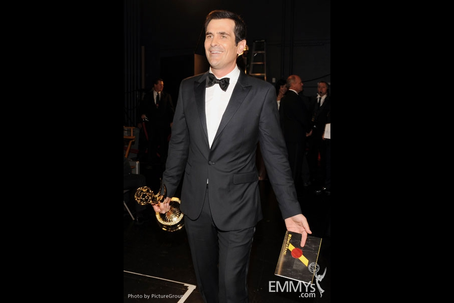 Ty Burrell backstage at the Academy of Television Arts & Sciences 63rd Primetime Emmy Awards at Nokia Theatre L.A. Live