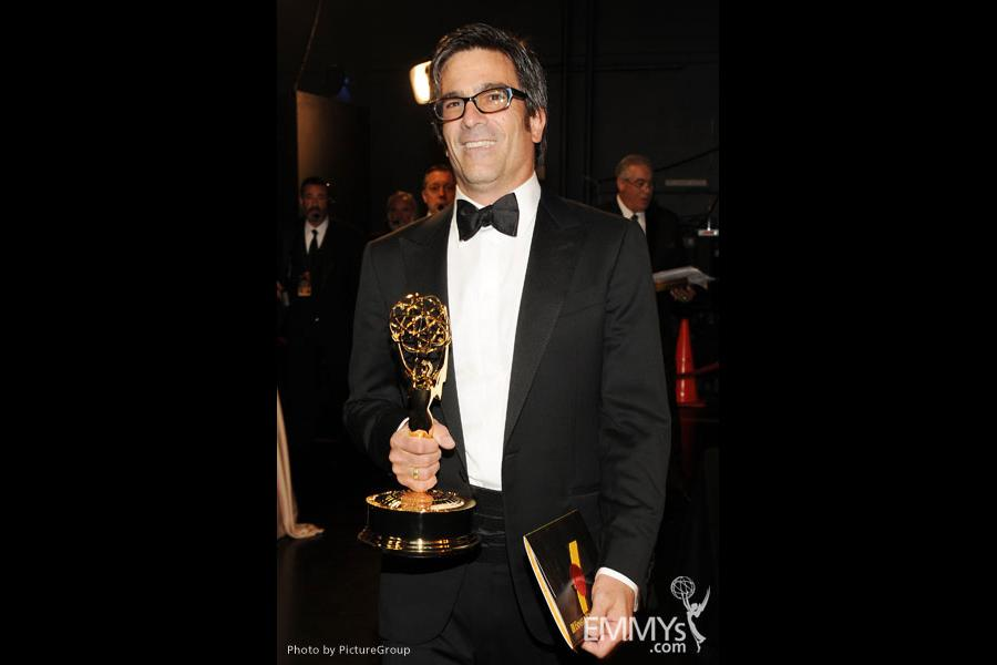 Michael Spiller backstage during the Academy of Television Arts & Sciences 63rd Primetime Emmy Awards at Nokia Theatre L.A. Live