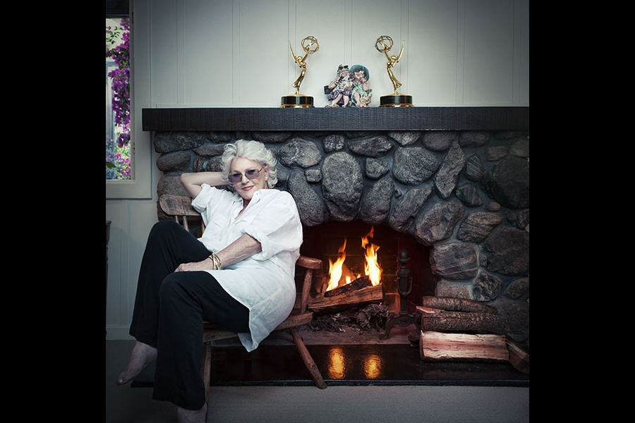Sharon Gless and her Emmys