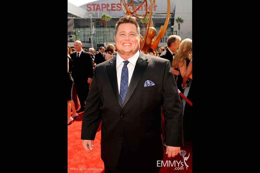 Chaz Bono attends the Academy of Television Arts and Sciences 2011 Primetime Creative Arts Emmys