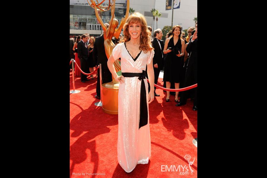 Kathy Griffin attends the Academy of Television Arts and Sciences 2011 Primetime Creative Arts Emmys