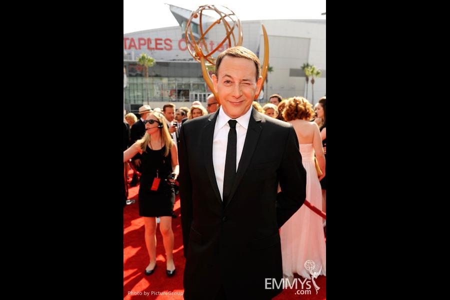 Paul Reubens attends the Academy of Television Arts and Sciences 2011 Primetime Creative Arts Emmys