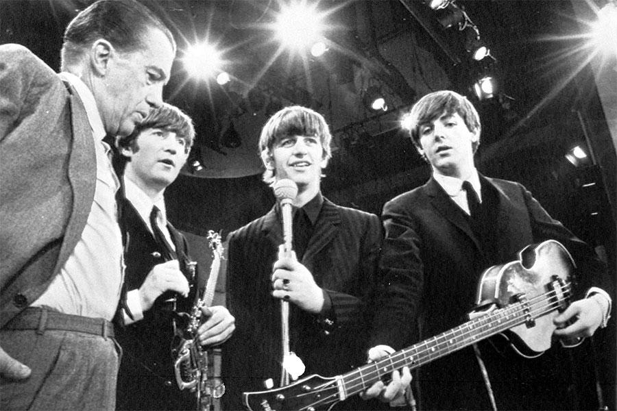 The Beatles and Ed Sullivan