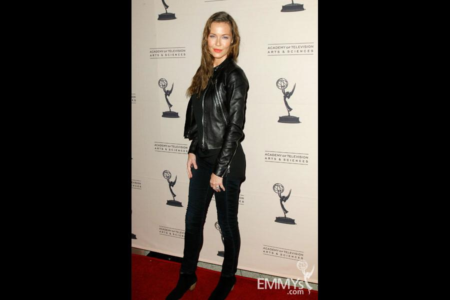 Connie Nielsen arrives at An Evening With Boss