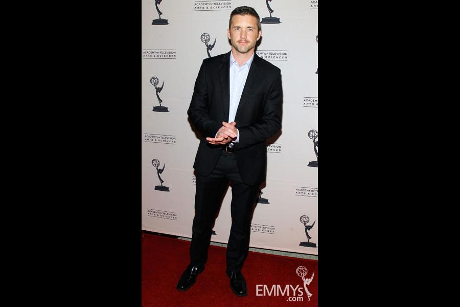 Jeff Hephner arrives at An Evening With Boss