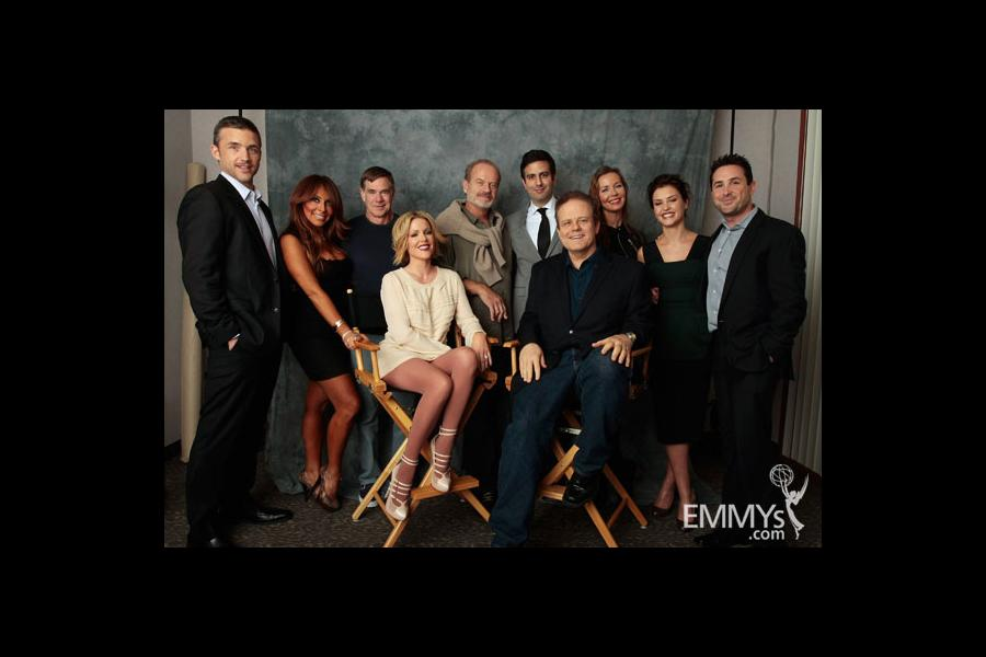 The cast of An Evening With Boss