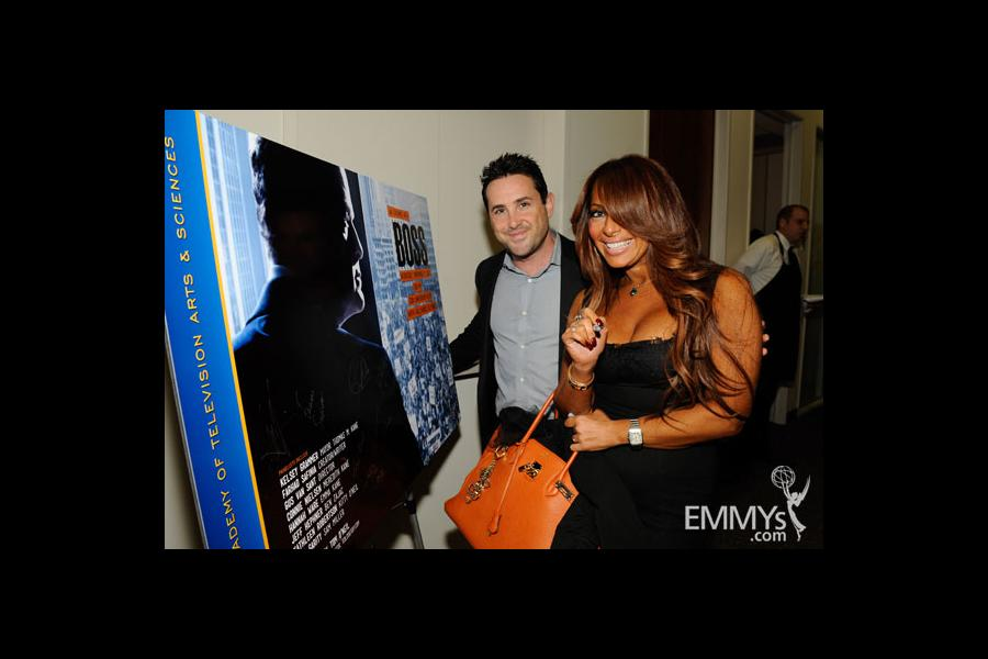 Brian Sher and Stella Bulichnikov at An Evening With Boss