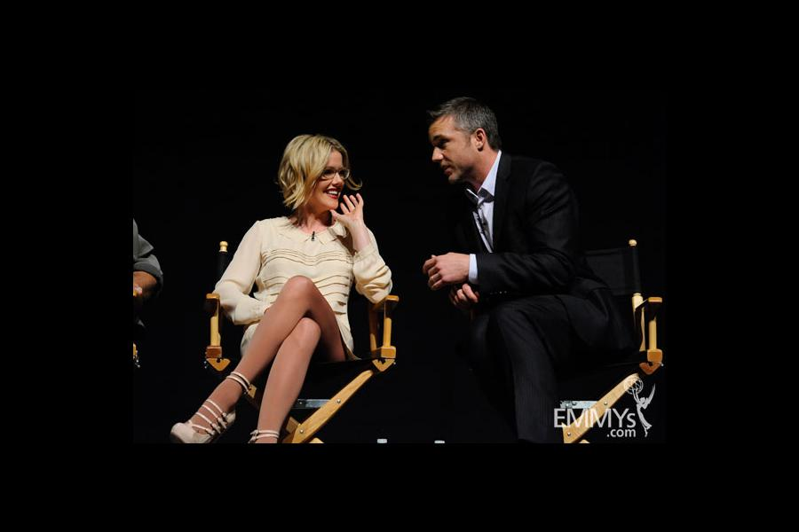 Kathleen Robertson and Jeff Hephner at An Evening With Boss