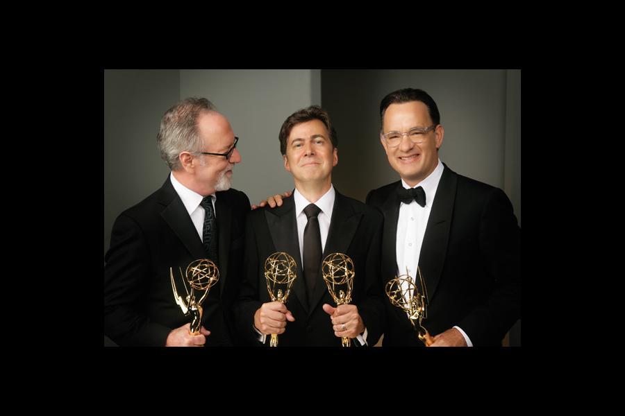 Gary Goetzman, Kirk Ellis & Tom Hanks - Charles Bush Photo Gallery 2