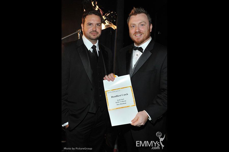 "Emmy award winning team from the ""Deadliest Catch"" backstage"